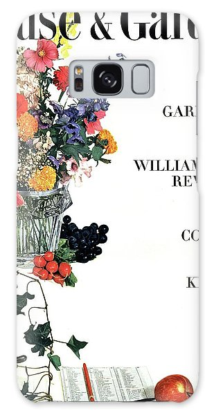 House And Garden Guide To Good Gardening Cover Galaxy Case