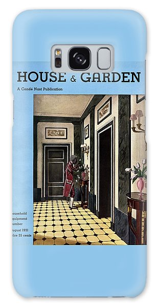 House And Garden Household Equipment Number Galaxy Case