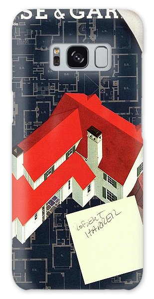 House And Garden Houses With Plans Cover Galaxy Case