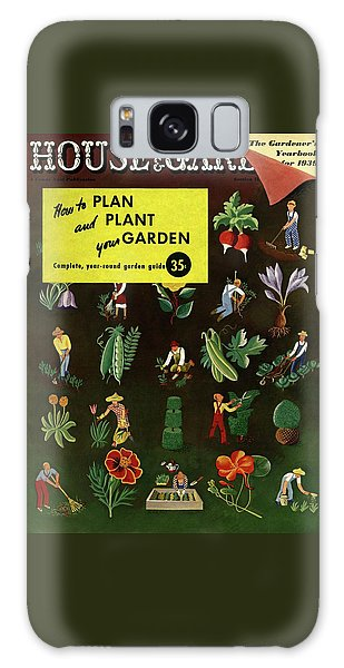 House And Garden How To Plan And Plant Galaxy Case