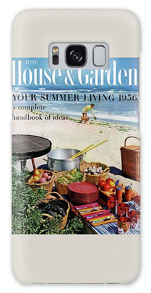 House And Garden Ideas For Summer Issue Cover Galaxy Case