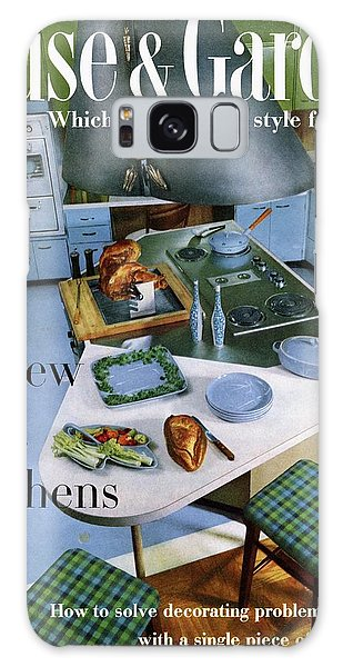House And Garden Kitchen Ideas Issue Galaxy Case