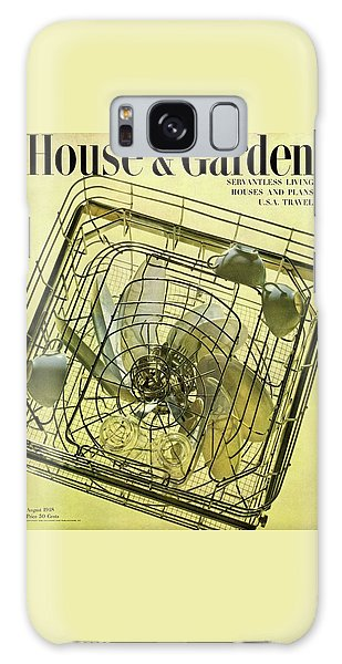 House And Garden Servant Less Living Houses Cover Galaxy Case