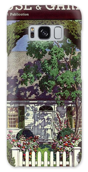 House And Garden Small House Number Galaxy Case