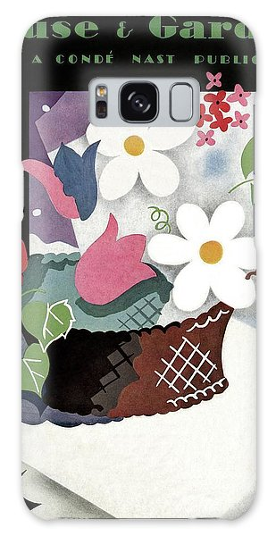 House And Garden Summer Furnishings Number Cover Galaxy Case