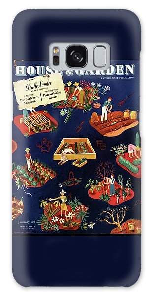 House And Garden The Gardener's Yearbook Cover Galaxy Case