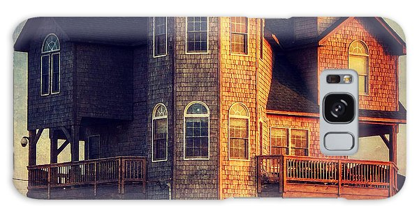 House In Rodanthe At Sunset Galaxy Case