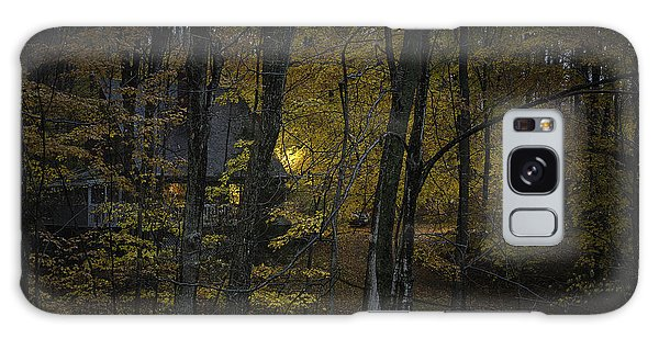 House In The Woods Galaxy Case