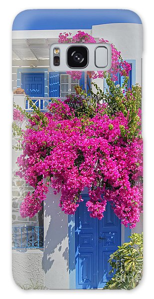 House Of Bougainvillea Galaxy Case