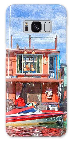 Powerboat Galaxy Case - Houseboat #2 - Lake Union - Seattle by Nikolyn McDonald