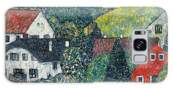 Town Galaxy Case - Houses At Unterach On The Attersee by Gustav Klimt