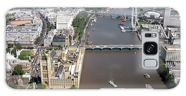 Houses Of Parliament Galaxy Case - Houses Of Parliament by Alex Bartel/science Photo Library