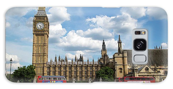 Houses Of Parliament Galaxy Case - Houses Of Parliament by Mark Thomas/science Photo Library