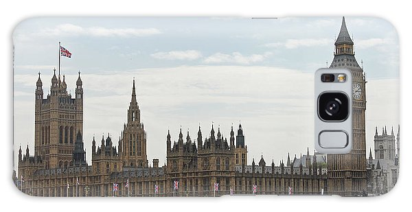 Houses Of Parliament Galaxy Case by Tony Murtagh