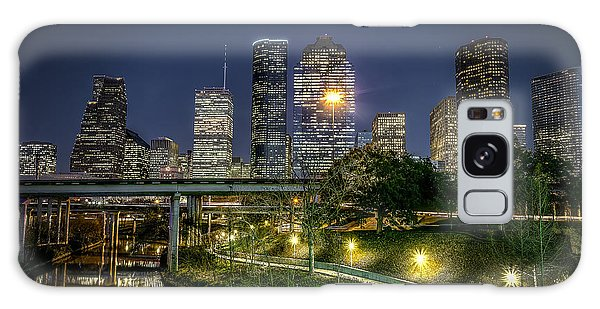 Houston On The Bayou Galaxy Case