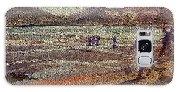 Hout Bay Beach Sunset Galaxy Case