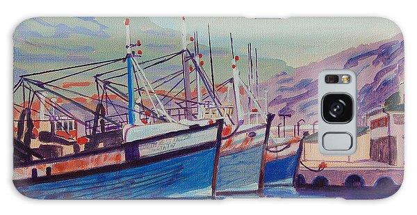 Hout Bay Fishing Boats Galaxy Case