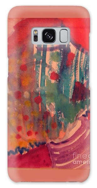How Much I Loved You Original Contemporary Modern Abstract Art Painting Galaxy Case