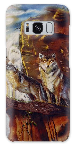 Howling For The Nightlife  Galaxy Case