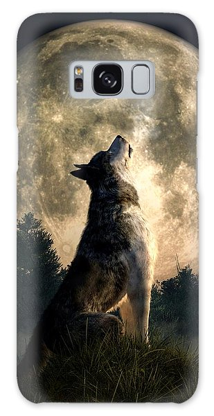 Howling Wolf Galaxy Case