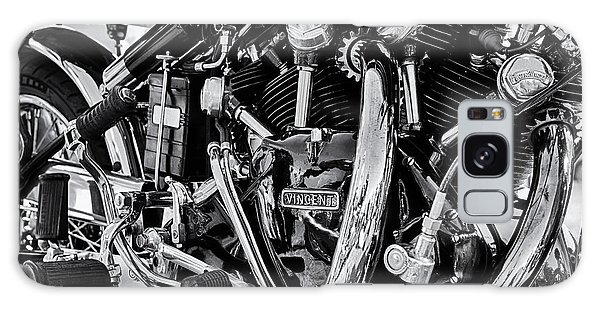 Hrd Vincent Motorcycle Engine Galaxy Case