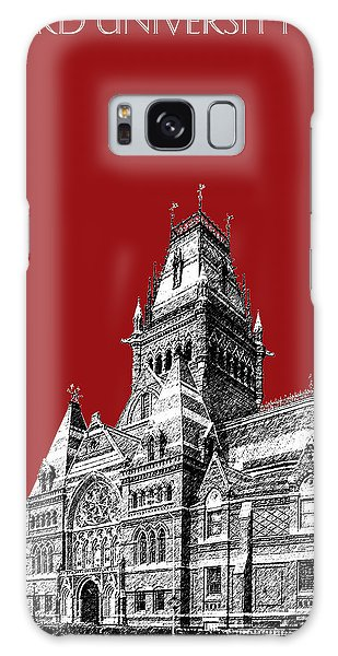 Harvard University - Memorial Hall - Dark Red Galaxy Case by DB Artist