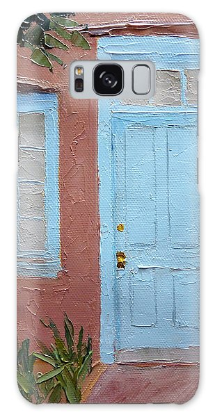 Hubbell Home Doorway Galaxy Case by Susan Woodward