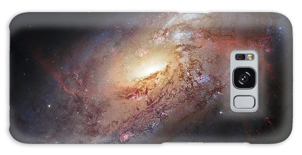 Hubble View Of M 106 Galaxy Case