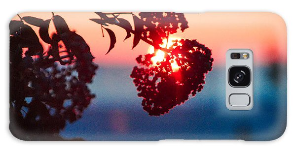 Huckleberry Sunset Galaxy Case