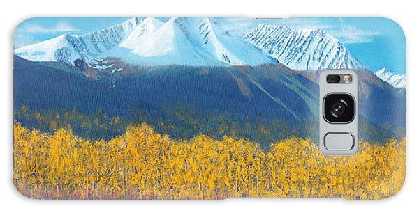 Hudson Bay Mountain Galaxy Case by Stanza Widen