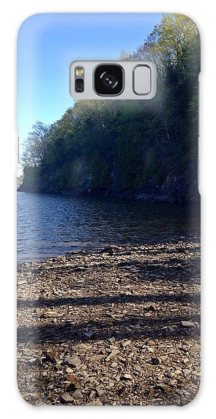 Hudson River Shoreline Galaxy Case