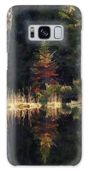 Huff Lake Reflection Galaxy Case