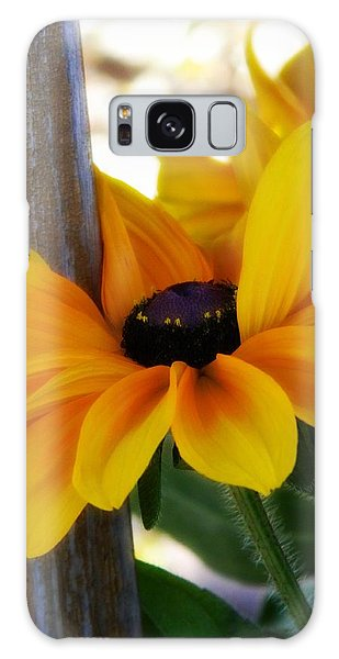 Hugging The Pole Galaxy Case by Michelle Frizzell-Thompson