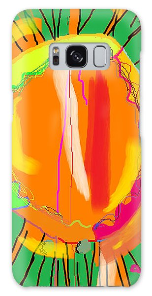 Hula Hoop Galaxy Case by Anita Dale Livaditis