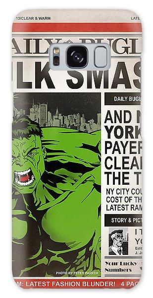 Hulk Smash - Daily Bugle Galaxy S8 Case