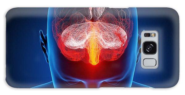 Nervous System Galaxy Case - Human Brain by Johan Swanepoel