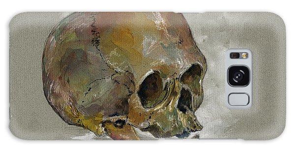 Skull Galaxy Case - Human Skull Study by Juan  Bosco