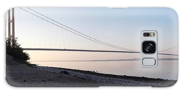 Humber Bridge Panorama Galaxy Case