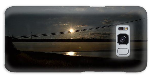 Humber Bridge Sunset Galaxy Case