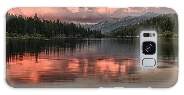 Hume Lake Sunset Galaxy Case by Terry Garvin