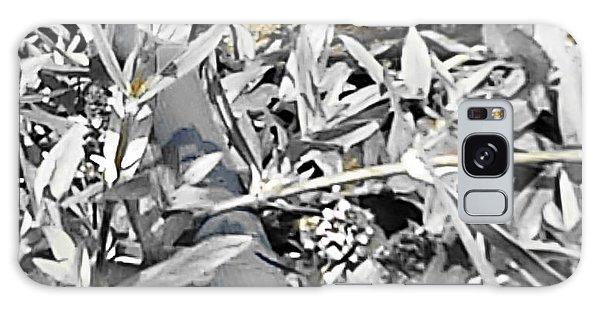Hummingbird Bee Undone Galaxy Case by Yolanda Raker