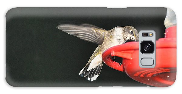 Hummingbird Drinking Galaxy Case