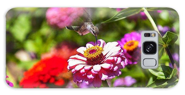 Garden Galaxy Case - Hummingbird Flight by Garry Gay