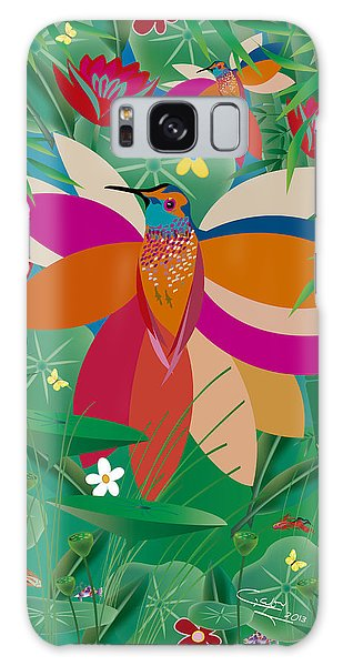 Hummingbird - Limited Edition  Of 10 Galaxy Case