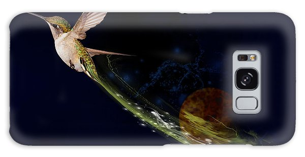 Hummingbird Heaven Galaxy Case