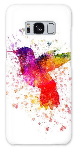 Hummingbird In Color Galaxy Case by Aged Pixel