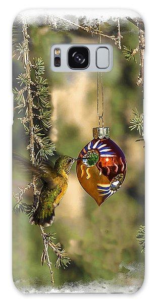 Hummingbird Ornament Galaxy Case