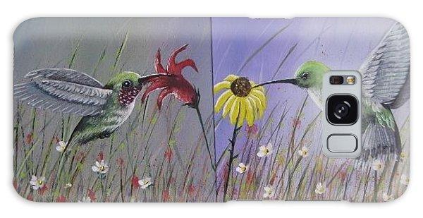 Hummingbird Pair Galaxy Case