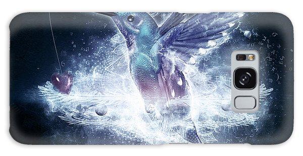 Hummingbird Print Galaxy Case