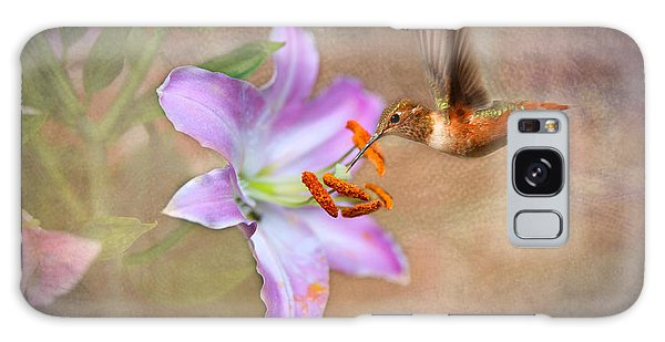 Hummingbird Sweets Galaxy Case by Mary Timman